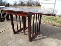 Table*Vintage*Folding*All Wood*Red Mahogany* in Rolla, Missouri