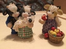 Cow Figurines by Enseco in Wilmington, North Carolina