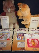 Teddy Ruxpin, Grubby, Cable, Books, Cassettes 1984/1985 WOW VINTAGE in Glendale Heights, Illinois