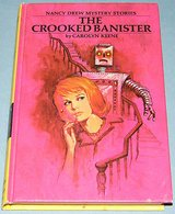 Vintage 1971 Nancy Drew The Crooked Banister 1st Edition in Plainfield, Illinois