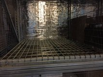 Steel Frames - Dividers - Wire Mesh Deck - Wine storage in Camp Pendleton, California