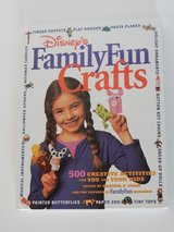 Disney's Family Fun Crafts 500 Creative Activities for You and Your Kids Hard Cover Book in Plainfield, Illinois