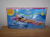 "Sun Shine 72"" ADULT Hot Pink Float NEW SEALED Beach Pool in Plainfield, Illinois"