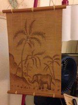 Bamboo wall hanging Elephant Jungle in Travis AFB, California