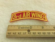 3rd air wing okinawa made 1980's tab for tour jacket cruise shadowbox  usmc patch in Okinawa, Japan
