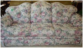 Very comfortable Flower covered Sofa in The Woodlands, Texas