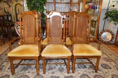 6 ~  BROYHILL ANTIQUE CHAIRS in The Woodlands, Texas