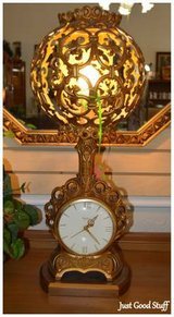 Antique Lamp and Clock in The Woodlands, Texas