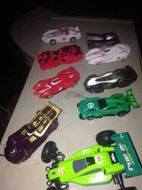 Toy Drag Racing Cars not sure if any are collectible in Travis AFB, California