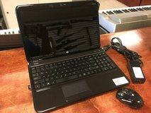 HP G6 laptop with wireless mouse in Camp Lejeune, North Carolina