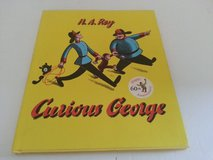 RARE 1993 Curious George 60th Anniversary Edition Hard Cover Book in Plainfield, Illinois