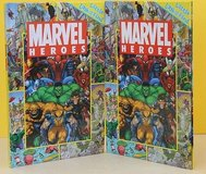 Marvel Heroes Litttle Look & Find Illustrated Hardcover Book Super Heroes Age 4-8 in Joliet, Illinois