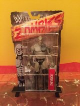 wwe zombie the rock figure in Naperville, Illinois