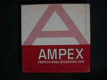 Vintage AMPEX 7 inch Reel To Reel Music Tapes Lot of 42 in Travis AFB, California