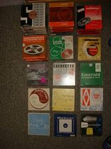 Vintage 7 inch Reel to Reel MusicTapes Lot of 64 (Various Brands) in Travis AFB, California