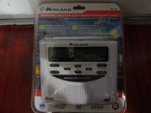NEW MIDLAND EMERGENCY WEATHER ALERT RADIO WITH ALARM CLOCK in Fairfield, California