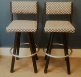 Upholstered Swivel Bar Stools in Tacoma, Washington