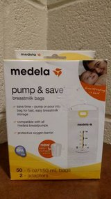 Bags Pump And Save Medela 50 Breast Count Milk Breastmilk Storage (T=40/7) in Fort Campbell, Kentucky