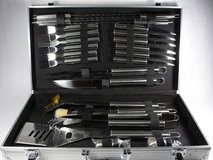 norfolk southern bbq grill tools gift set barbecue accessories railroad in Naperville, Illinois