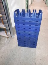 11Authentic Classic Pepsi 2 Liter Carrier Stackable Blue Plastic Crate in Travis AFB, California