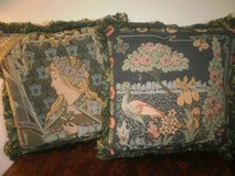Custom Made Tapestry & Velvet Throw Pillows Couch Pillow in Naperville, Illinois