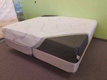 "75% OFF! KING SIZE 10"" FIRM & 12"" PLUSH - HYBRID Gel / Memory Foam! in Aurora, Illinois"