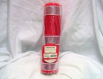 """Holiday time 10"""" x 10 ft deco mesh decorative poly christmas roll red stripe craft in Kingwood, Texas"""