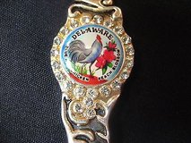 Classic collection deleware pewter usa state collector souvenir spoon travel in Kingwood, Texas