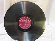 "Columbia 2569 gibbons piano no 8  78 rpm etched album 10"" double sided in Kingwood, Texas"
