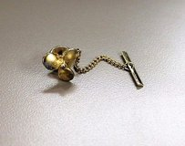 Collectible vintage gold tone propeller boat fish camp sail tie tack clasp clip in Kingwood, Texas