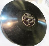 "1938 antique 1691 columbia melancolie 78rpm record etched album 10"" double sided in Kingwood, Texas"