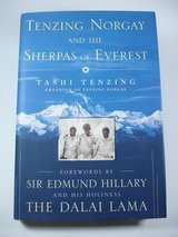 Tenzing Norgay and the Sherpas of Everest tashi tenzing mountain climbing book in St. Charles, Illinois