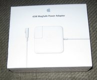 genuine apple 45w magsafe power adapter for macbook air older models -  a1374 in Camp Lejeune, North Carolina