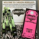 Carolina Rebellion camping package for 4 in Wilmington, North Carolina