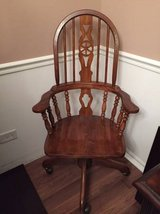 ~ANTIQUE SOLID OAK OFFICE CHAIR~ in Naperville, Illinois