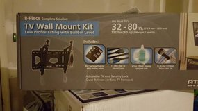 TV Mount for 32-80 inch TV (up to 132 lbs) - Brand New -extras 8 pcs in Bolingbrook, Illinois