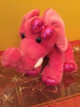 "aurora world girlz nation pink elephant plush 9"" toy play soft soft plush in Chicago, Illinois"