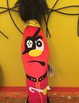 "large 25"" kooky pen plush pirate stuffed animal red in Oswego, Illinois"