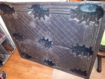 Thermoformed Plastic Pallet 2500 Lbs -used in Travis AFB, California