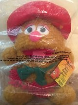 New 1988 McDonalds Fozzie Bear Holiday Muppet Baby Plush Toy in Naperville, Illinois