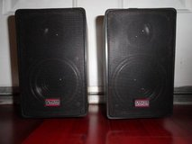 ALTEC LANSING 52 WEATHERPROOF SPEAKERS w/ BRACKETS n SCREWS in Travis AFB, California