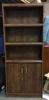 Bookcase with Cabinet on Bottom in Wilmington, North Carolina
