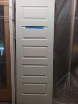 NEW 1 Solid Core 28 inch doors No door holes cut in Beaufort, South Carolina