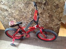 """14"""" Huffy Disney Cars Boys' Bicycle in Naperville, Illinois"""