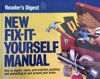 Fix-It-Yourself Manual Readers Digest 1996 Hard Cover in Joliet, Illinois