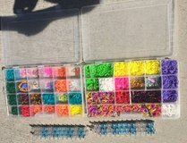 Set of two Rainbow Loom w/Bands and cases in Kingwood, Texas