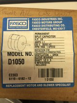 Fasco D1050 5.0-inch dia. Condenser Fan Motor, 1/8 hp, 230v, 1550 rpm, 1 speed in Byron, Georgia