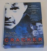 Cracker The Complete Series Boxed Set - 16 Episodes on 4 DVDs in Morris, Illinois