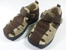 Boys ecco Brown Leather Shoes Sandals Toddler US 7/7.5 in St. Charles, Illinois