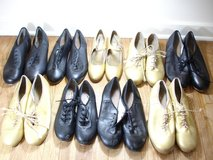6 Pairs Capezio Tele Tap Dance Shoes Various Sizes in St. Charles, Illinois